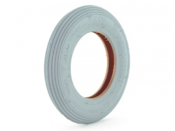 Pair of Castor Tyres 6 inch & 8 inch x 1 1/4