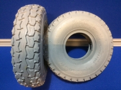 Pair of  2.50-3 Block Tyres