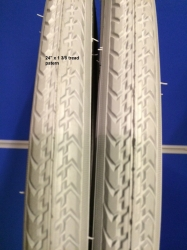 Pair of Manual Wheelchair Tyres Vairous sizes
