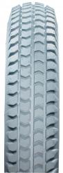 Pair of 300 x 8 Grey Block Tyre NITHT301