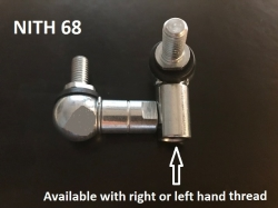 Universal track rod ends 8mm