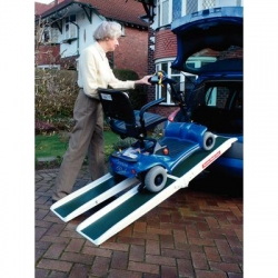 Fibreglass Folding Access Channel Ramps
