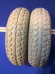 Pair of 250/280 x 4 Bock Tyre in Grey NITHT583
