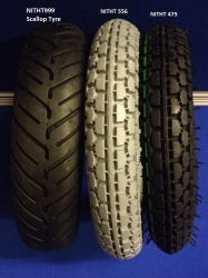 Pair of 250 x 6 Tyre