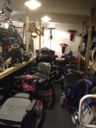Used scooter and power chair parts