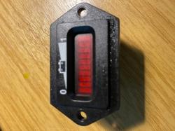 Salvage stock Volt meter