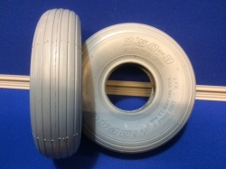 Pair of  2.50-3 Rib Tyres