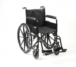Steel Wheelchair with MAG Wheels NITHWC1142