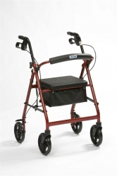 Lightweight outdoor/indoor Rollator NITHWR7