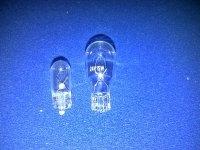 GLASS BULBS 24 VOLTS 3, 5, 10 & 15 WATTS