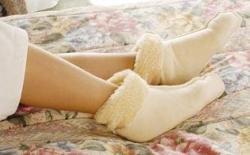 Synthetic Fleece Bed Socks