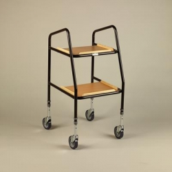 Adjustable Height Teak Trolley NITHT 199