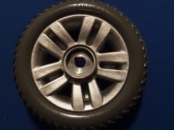 TGA Mk 4 & 5 Drive Wheel & Tyre
