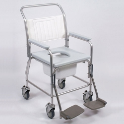Aluminium Mobile Shower / Commode Chair NITHC 120