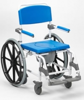 Shower and Toilet Wheelchair (large wheels) NITHS 432