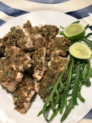 Pecan and Lime Chicken