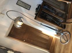 Silver Standard Leaf Lamp