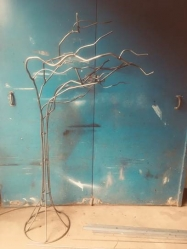 WIndswept Tree - Garden Sculpture