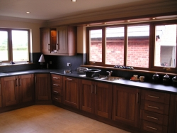 This is an example of the kitchens I fitted into the bungalows at The Old Bakery site in Gretna