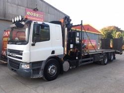Beavertail Crane Lorry Daf CF75...Now Sold