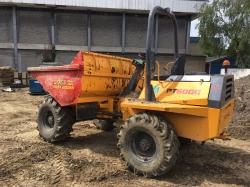 6 Tonne Terex PT 6000 Forward Tip Dumper