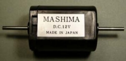 Mashima M1833 Flat Can Motor 33 x 18 x 23.2mm 2mm Double End