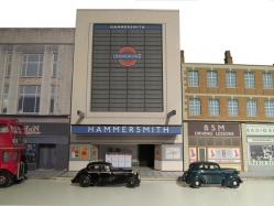 HAM Hammersmith Queen Caroline St station entrance