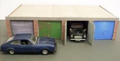OLU  Lock-up garages block