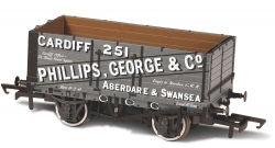 7 PLANK MINERAL WAGON GEORGE & CO 251