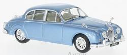 JAGUAR MK11 METALIC BLUE 1960 1/43