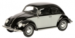 VW BEETLE BLACK AND WHITE, BLACK or GREEN 1950 TO 1999