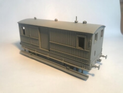 EX METROPOLITAN BRAKE VAN B554 OUT NOW