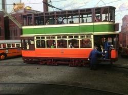 Tony Tieuli Glasgow Tram
