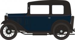 Austin Seven RN Saloon Light Royal Blue
