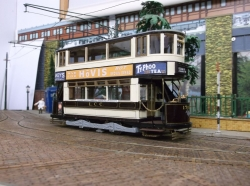 TERRY RUSSELL M CLASS TRAM IN ORIGINAL L.C.C.