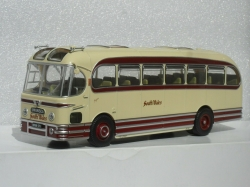 WEYMANN FANFARE BUS COACH MODEL SOUTH WALES TRANSP 1:43 SIZE OXFORD