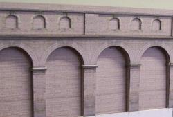 CAA Circle Line Station Wall