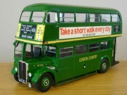 AEC REGENT III LONDON COUNTRY MODEL BUS 1:43 SCALE  ROUTE 406 TRANSPORT K8