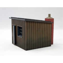 PLATELAYERS HUT TRUE SCALE READY PAINTED