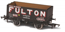 7 PLANK MINERAL WAGON WIGAN FULTON 602