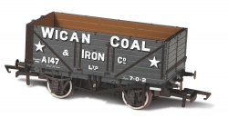 7 PLANK MINERAL WAGON WIGAN COAL 602