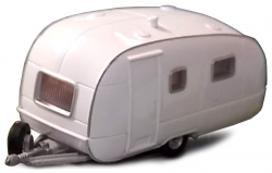 CARAVAN - WHITE (BROWN TRIM)