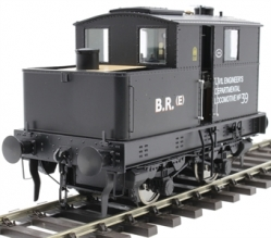 Class Y3 Sentinel 4wVB No.39 in BR departmental black - DCC fitted