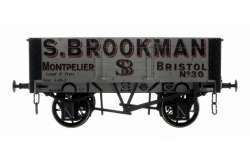 5 PLANK 9 WB WEATHERED S BROOKMAN NUMBER 30