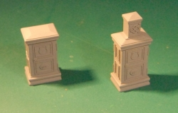 pair of resin GCT tramway power supply boxes