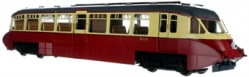 7D-011-005D Streamlined Railcar W8W BR Lined Carmine & Cream DCC £