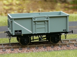 2 X 16T STEEL MINERAL WAGON BR REBODIED DIG 1/108 BOX