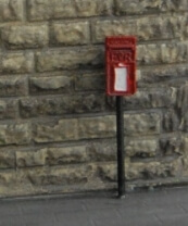 Post Box Small on Pole