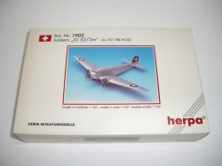 Herpa 1902, Junkers JU52 / 3m, lane N,  New in original box