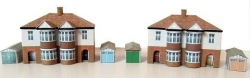NSA Traditional style semi detached houses